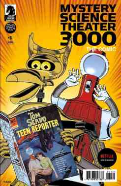 Mystery Science Theater 3000, The Comic Variant Cover by Steve Vance