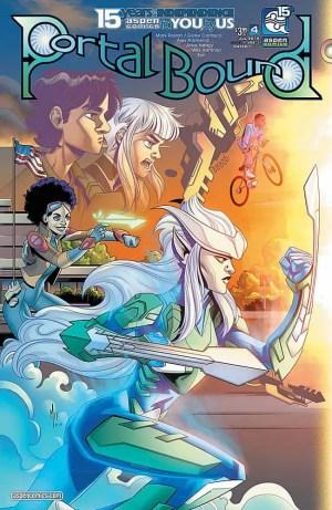 Portal Bound #4 - Cover A by Alex Arizmendi