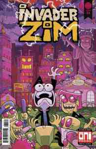 Invader ZIM #31 - Cover B by Matthieu Cousin