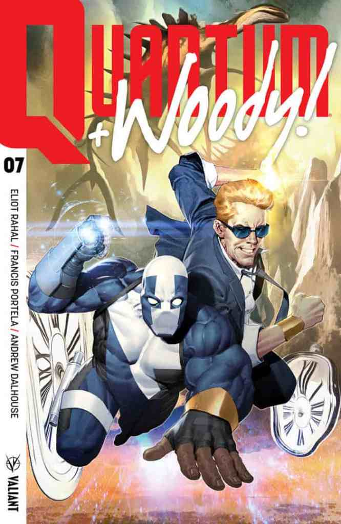 Quantum and Woody! #7 - Cover A by ARIEL OLIVETTI