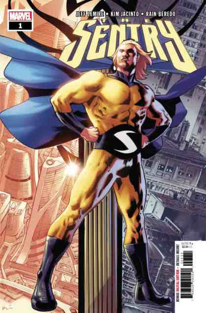 SENTRY #1 - Main Cover by Bryan Hitch