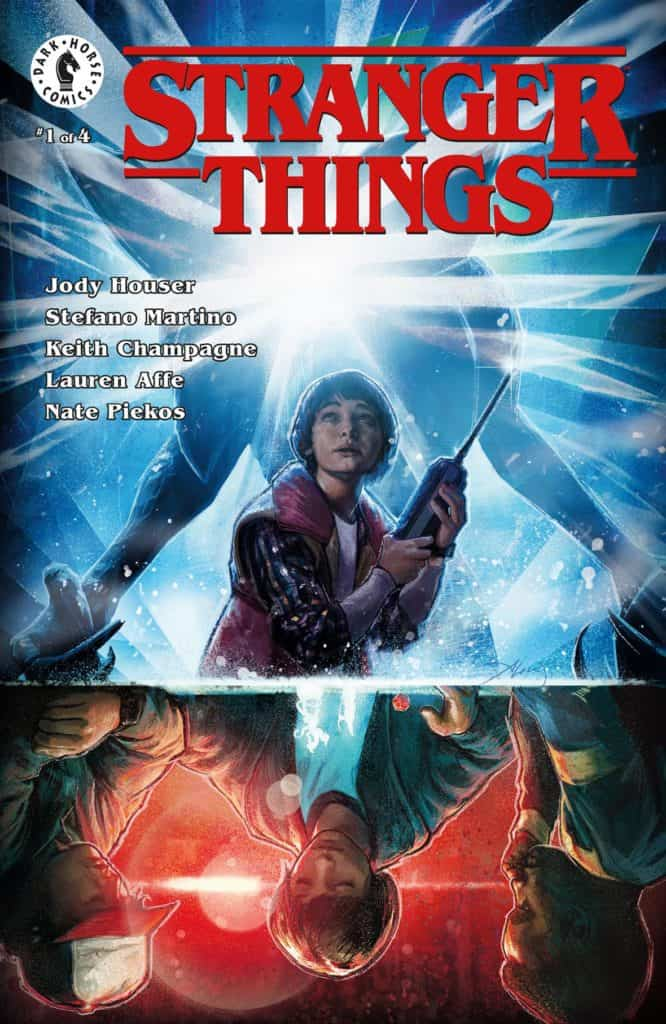 Stranger Things #1 Main Cover by Aleksi Briclot