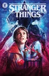 Stranger Things #1 Variant Cover by Kyle Lambert