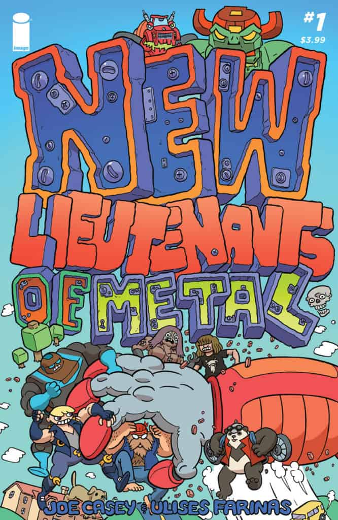 THE NEW LIEUTENANTS OF METAL #1 cover