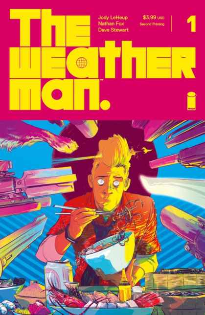 The Weatherman #1 - Second Printing Cover by Nathan Fox