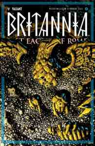 BRITANNIA: LOST EAGLES OF ROME #4 (of 4) - Variant Cover by Rafa Garres