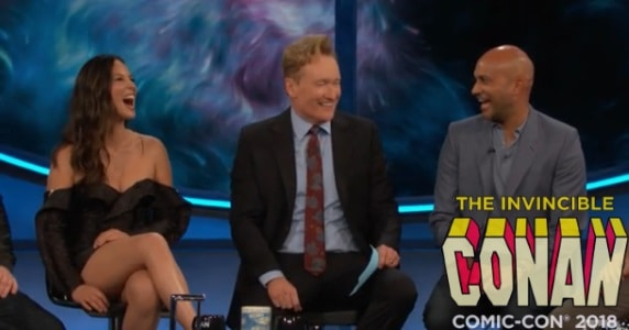 "Last Night on CONAN at COMIC-CON - 7/19/18: The Cast of ""The Predator"""