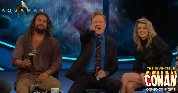 "Last Night on CONAN at COMIC-CON - 7/22/18: The Cast of ""Aquaman"""