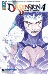 Dissension: War Eternal #1 - Cover B by Francis Manapul