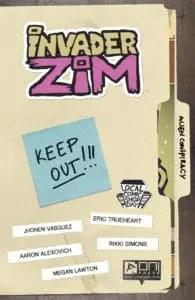 Invader Zim #0 Exclusive