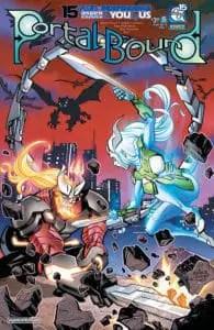 Portal Bound #5 - Cover B by Adam Archer&Wes Hartman