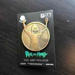 Rick and Morty Medallion Pickle Rick