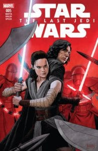 Star Wars: The Last Jedi Adaptation #5 Main Cover by Paolo Rivera