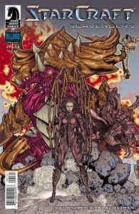 StarCraft: Scavengers #1 Variant Cover by Timothy Green II