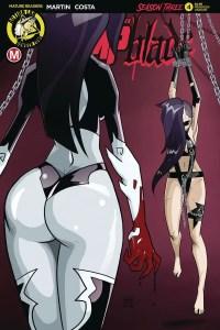 Vampblade Season 3 #4 - Cover E by Dan Mendoza