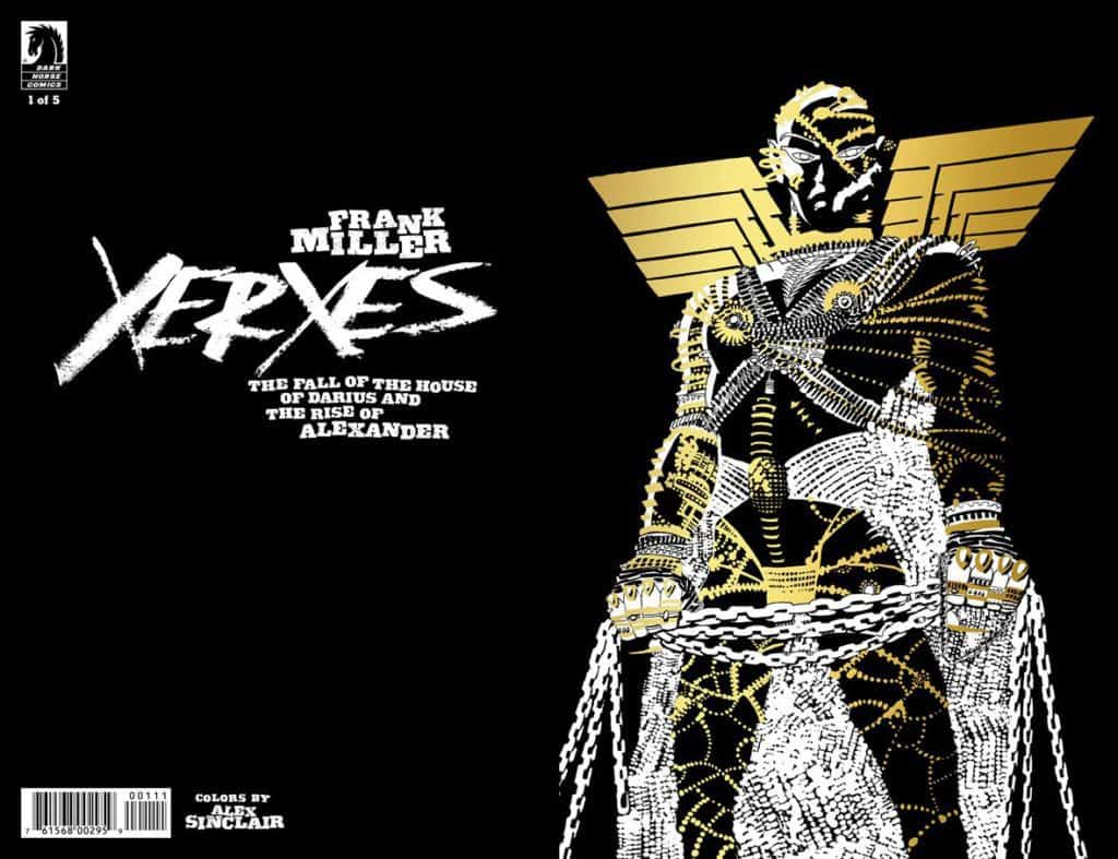 Xerxes: The Fall of the House of Darius and the Rise of Alexander #1 Convention Exclusive (Frank Miller) Gold Foil