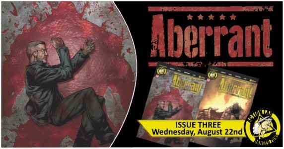 [Preview] Action Lab: Danger Zone's 8/22 Release: ABERRANT #3