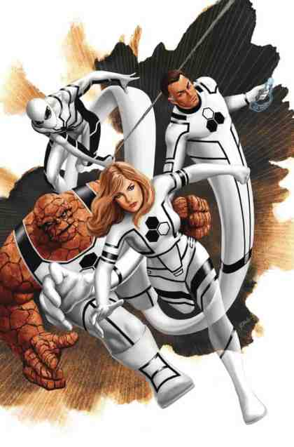 Amazing Spider-Man #3 - Return of the Fantastic Four Variant by Steve Epting