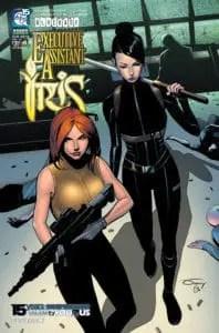 EXECUTIVE ASSISTANT: IRIS Vol. 5 #4- Cover A
