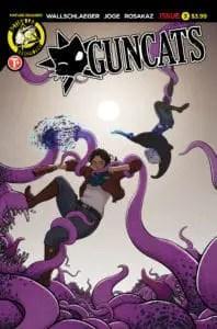 Guncats #3 Cover