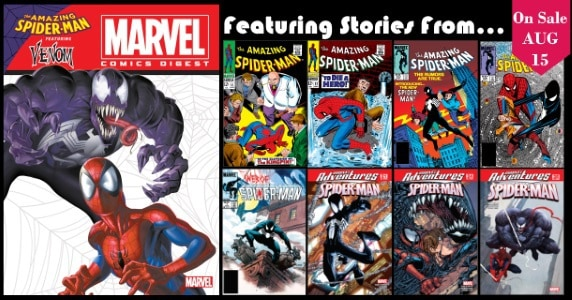 [Preview] Archie Comics' 8/15 Release: MARVEL COMICS DIGEST #8: SPIDER-MAN & VENOM