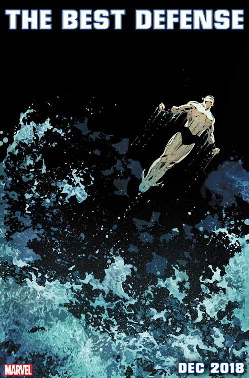 NAMOR: THE BEST DEFENSE cover by Ron Garney & Richard Isanove