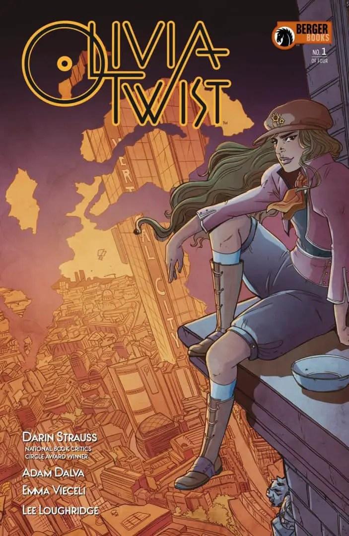 Olivia Twist #1 cover