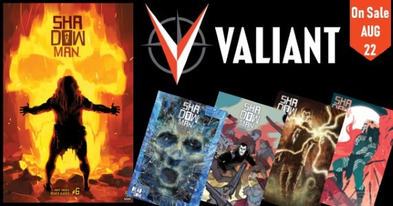 [Preview] Valiant's 8/22 Release: SHADOWMAN #6