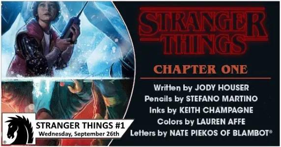 Stranger Things #1