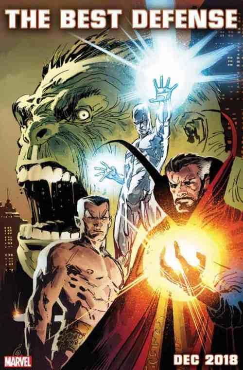 THE DEFENDERS: THE BEST DEFENSE cover by Ron Garney & Richard Isanove