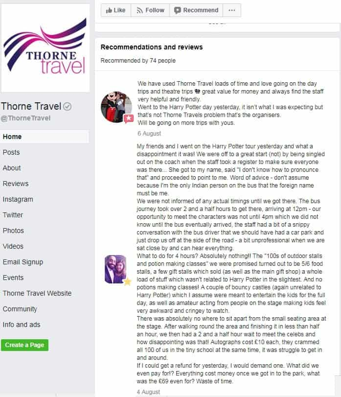 Thorne Travel