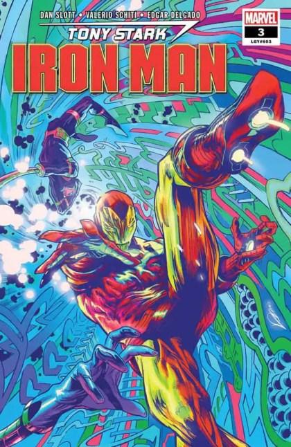 Tony Stark: Iron Man #3 Main Cover