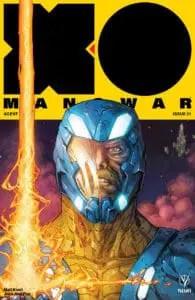 X-O MANOWAR (2017) #21 - Cover A by Kenneth Rocafort