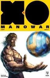 X-O MANOWAR (2017) #21 - Cover B by Alan Quah