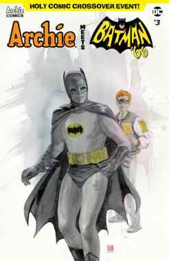 ARCHIE MEETS BATMAN '66 #3 - Variant Cover by David Mack