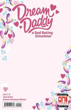 Dream Daddy sketch cover 2