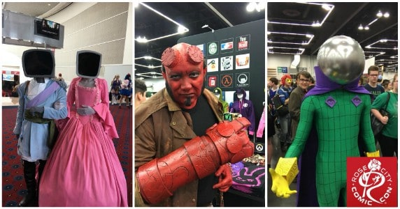 Rose City Comic Con 2018 by Brady Berkenmeier feature