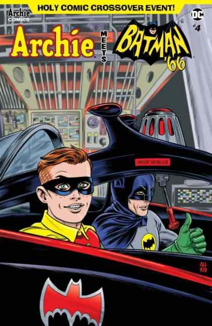ARCHIE MEETS BATMAN '66 #4 - Main Cover by Michael Allred & Laura Allred