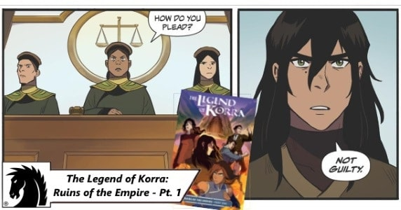 [Preview] Witness the Return of Archvillain Kuvira in Dark Horse's THE LEGEND OF KORRA: RUINS OF THE EMPIRE - Part One TPB