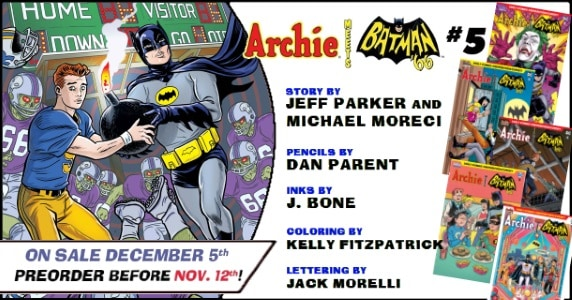 [Preview] Archie Comics' 12/5 Release: ARCHIE MEETS BATMAN '66 #5