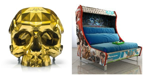 Pop Culture Inspired Furniture for Everyone from the Goth to the Gamer