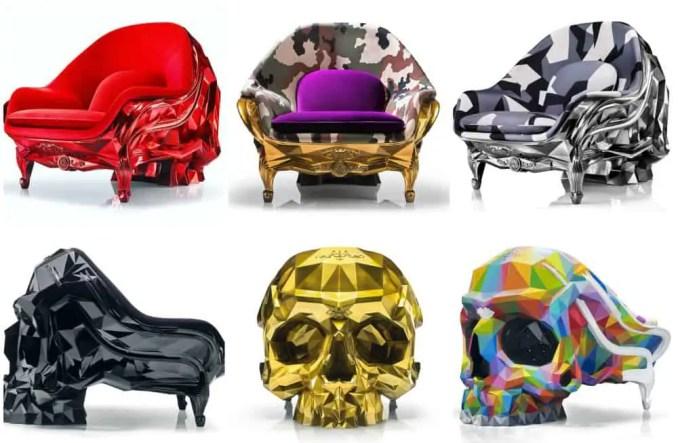 Skull Armchairs
