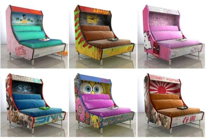Harrow Game Console Sofa