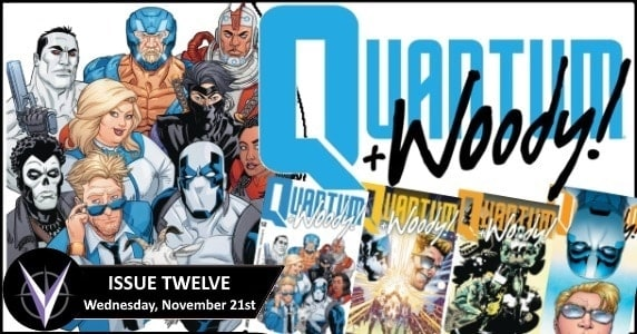 [Preview] Valiant's 11/21 Release: QUANTUM AND WOODY! #12