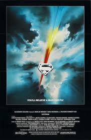 Original theatrical poster for Superman