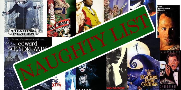 Naughty Movie List
