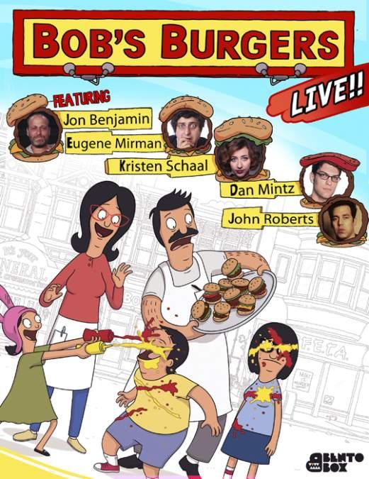 Bob's Burgers Live L.A. 5/7/13