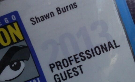 The Professional Guest Goes to San Diego Comic-Con