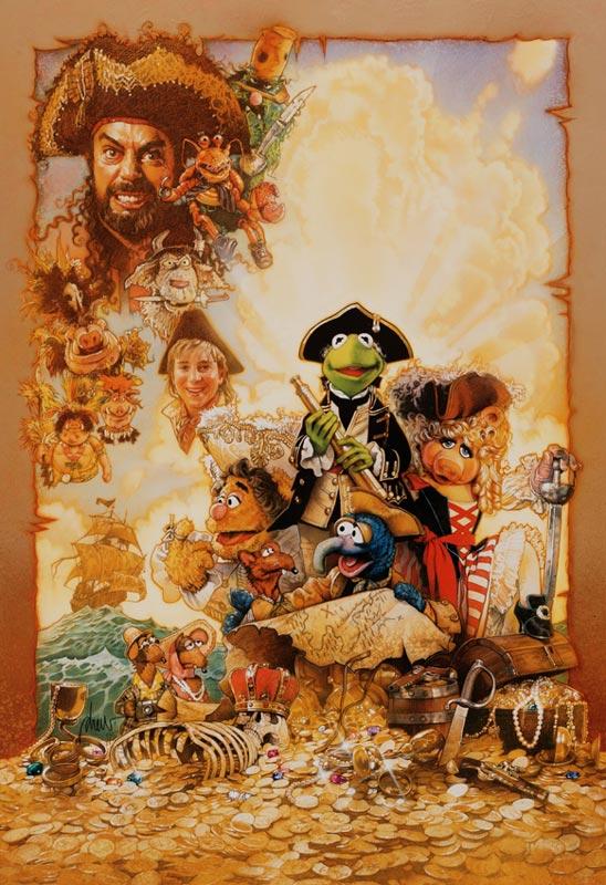 Muppet Treasure Island Captain Smollett