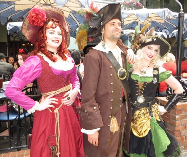 New Orleans Square was the place to find pirates.